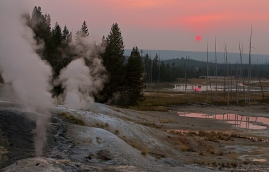 Proficiency 2013 Geyser Sunset S. Weber